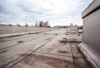 Colapso del techo descuidado