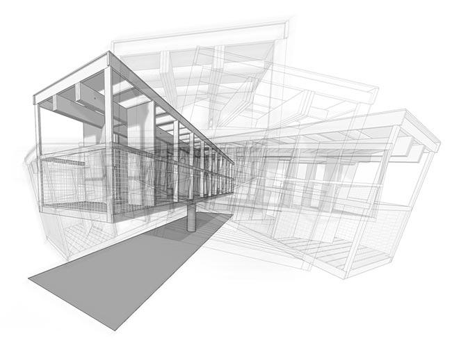 Steel framing para segunda residencia