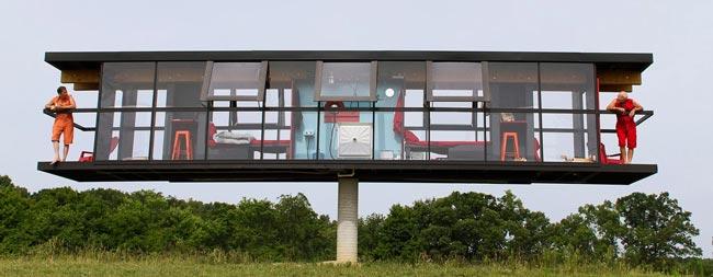 Steel framing. Una vivienda rotativa en 5 días