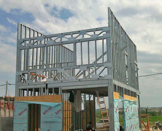 Construcción steel framing durante el COVID