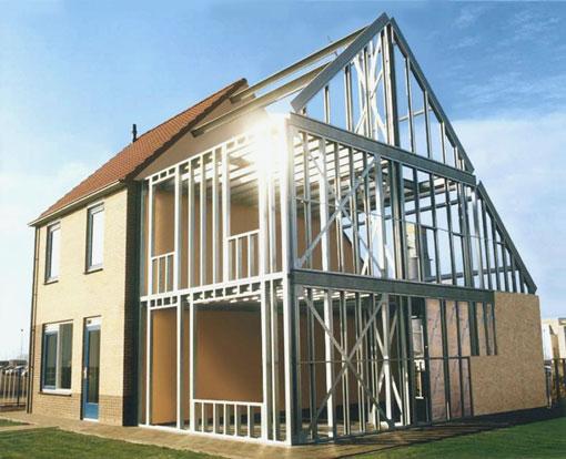 Construcción en seco de vivienda unifamiliar