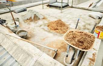 Los materiales utilizados en la ejecución de la cubierta de techos