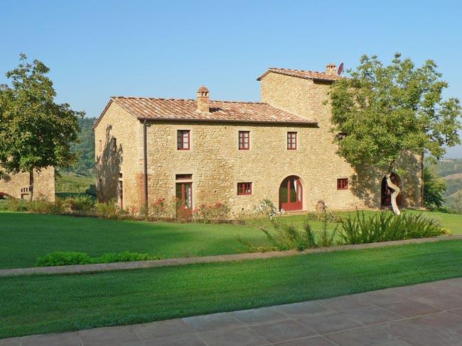 El aislamiento en las casas antiguas de La Toscana