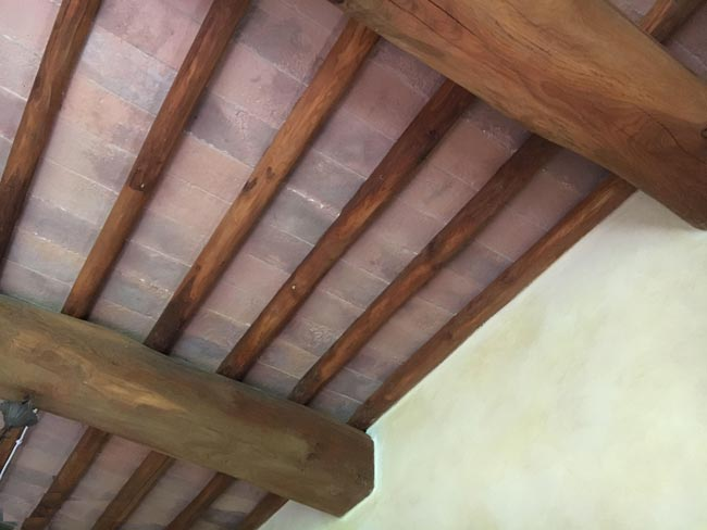 Los techos en tiempos pasados