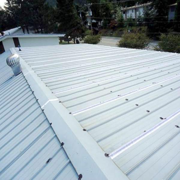 Estado general de los techos de chapa metálica