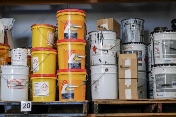 Los productos empleados para resolver los fallos en los edificios