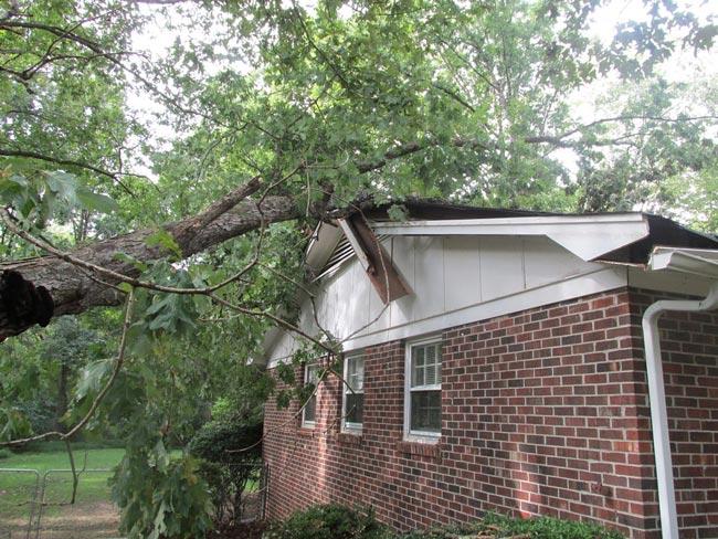 Fuertes vientos. Convertir su casa en un refugio