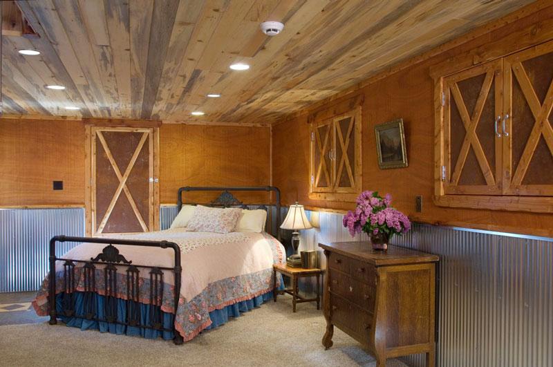 Baldas de madera para el techo