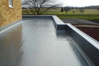 Impermeabilización de techos planos. Resinas líquidas
