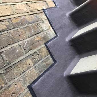 Impermeabilización de una escalera comunitaria