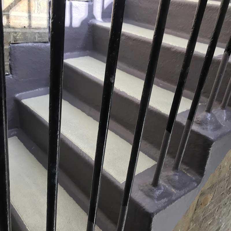 Protección de balaustradas