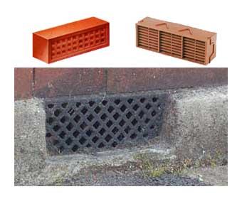Ladrillos de ventilación