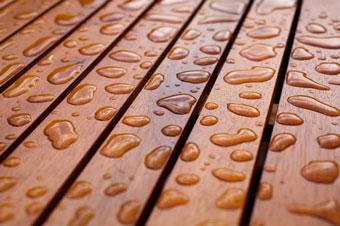 La madera y la humedad