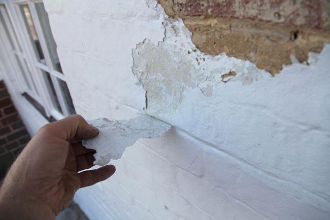Error al pintar paredes