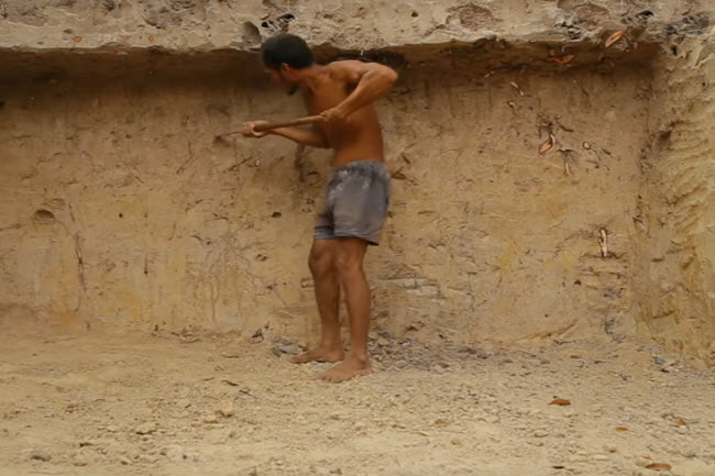 Piscina primitiva. ¿Cuanto tiempo para su excavación?