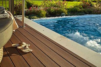 Plataforma de piscina