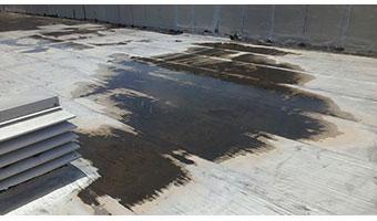 Preparar la cubierta de techos para una impermeabilización