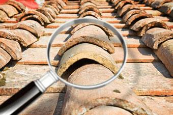 Problemas de la cubierta de techos