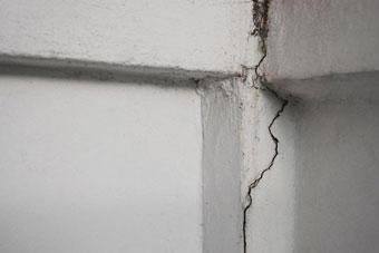 Problemas estructurales por grietas y asentamientos