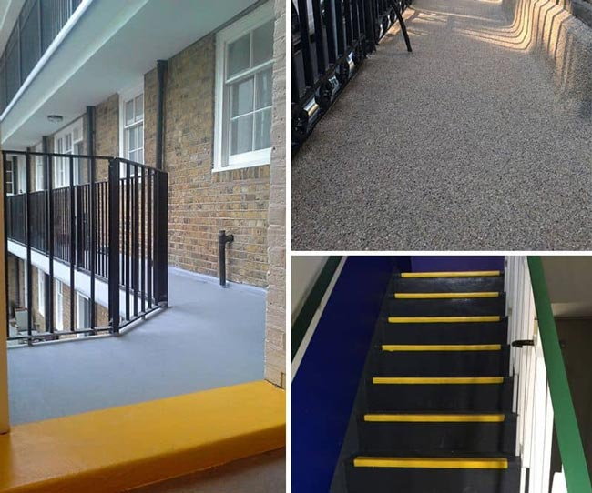 solución impermeable para balcones