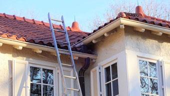 tejados de casas antiguas