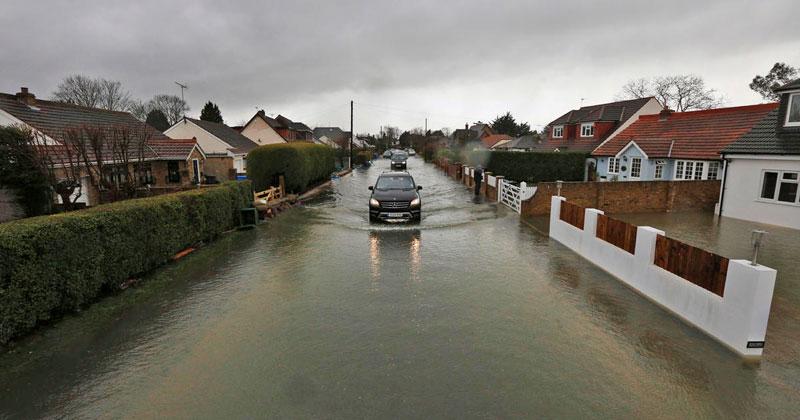 Riesgo de inundación