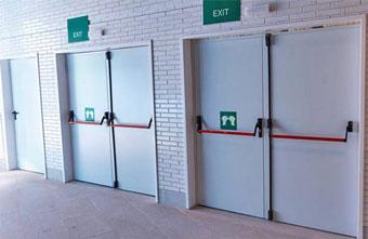 Evacuación y control de flujo en el hospital