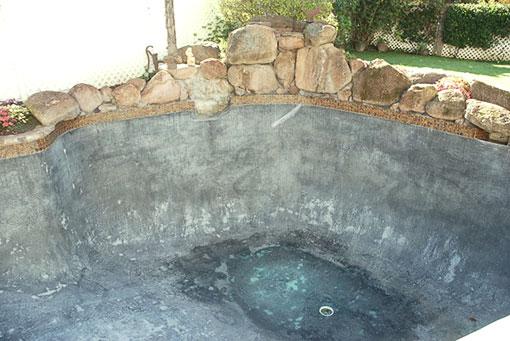 Construcción e impermeabilización de piscina