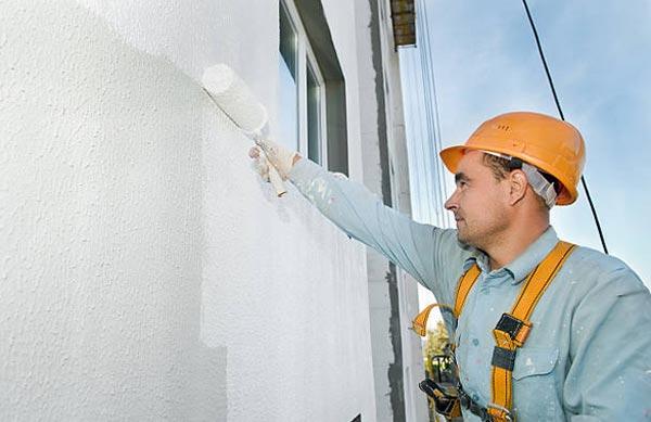 Elastómero de protección de la fachada. Impermeabilización de fachadas