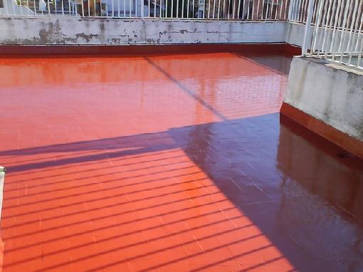 Impermeabilización de terraza sin extraer el suelo existente