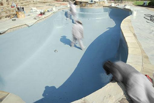 Impermeabilización y reparación de piscinas del revestimiento de la piscina