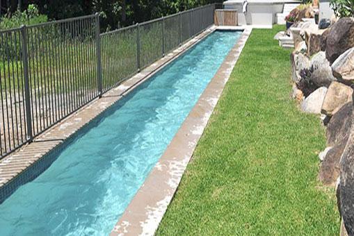 Impermeabilización y reparación de un natatorio privado