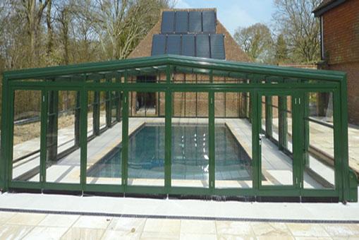 Impermeabilización y reparación de una piscina cubierta