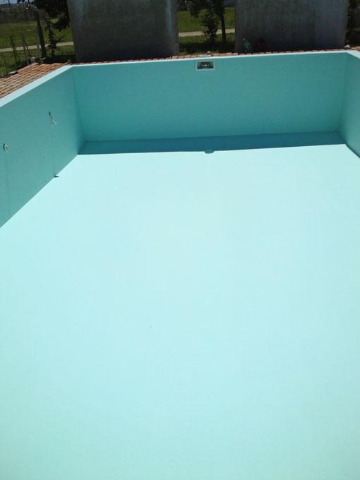 La piscinas y las grietas